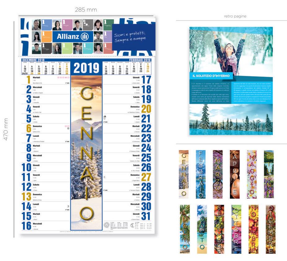 Febbraio Calendario 2020.Calendario 2020 Offerta Super Mmwebprint